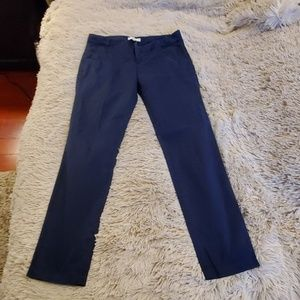 Navy blue 7 for all mankind skinny pants